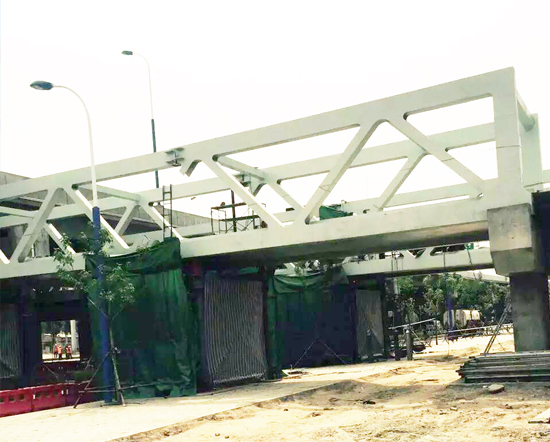包头钢结构工程——呼市南绕城桥梁工程