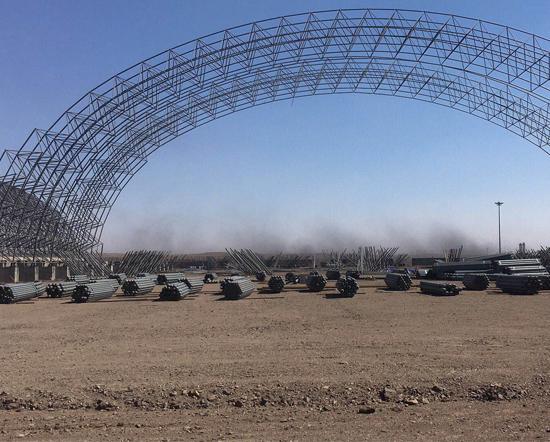 包头彩钢板公司工程——郑州至阜阳高铁项目部