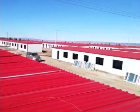 包头岩棉复合板工程——包头固阳文圪气回迁村1万平