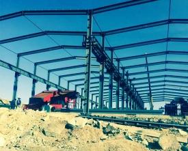 包头钢结构工程——包头市沙河银矿